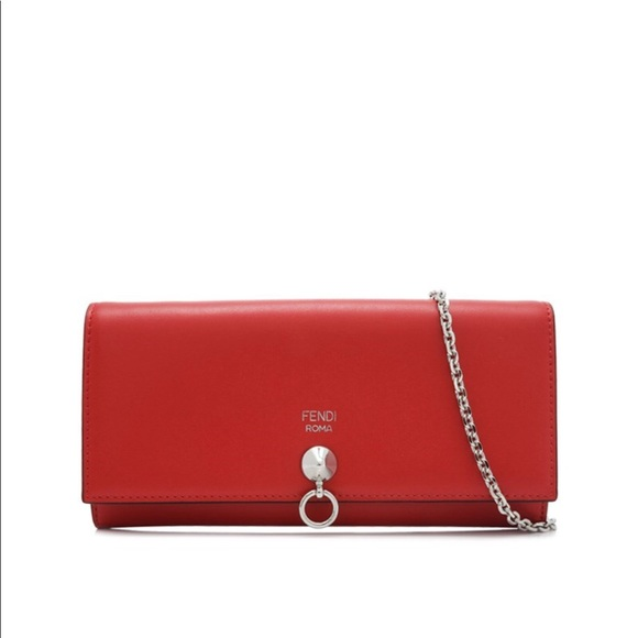 14f45f1e8b fendi wallet on chain red【0314ship】